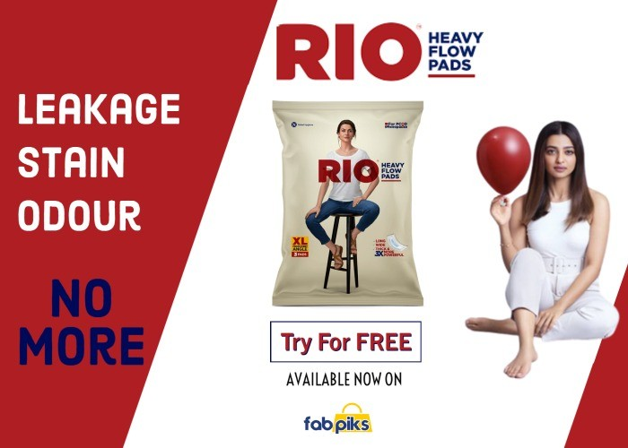 Rio Heavy Flow Sanitary Pads (XL)
