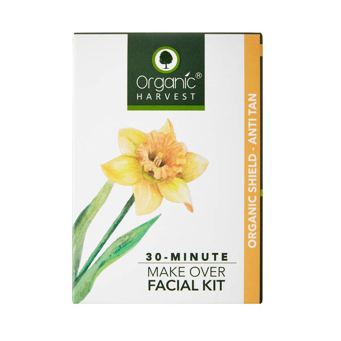 30 Minute Make Over Organic Shield Anti Tan Facial Kit | MRP Rs. 490