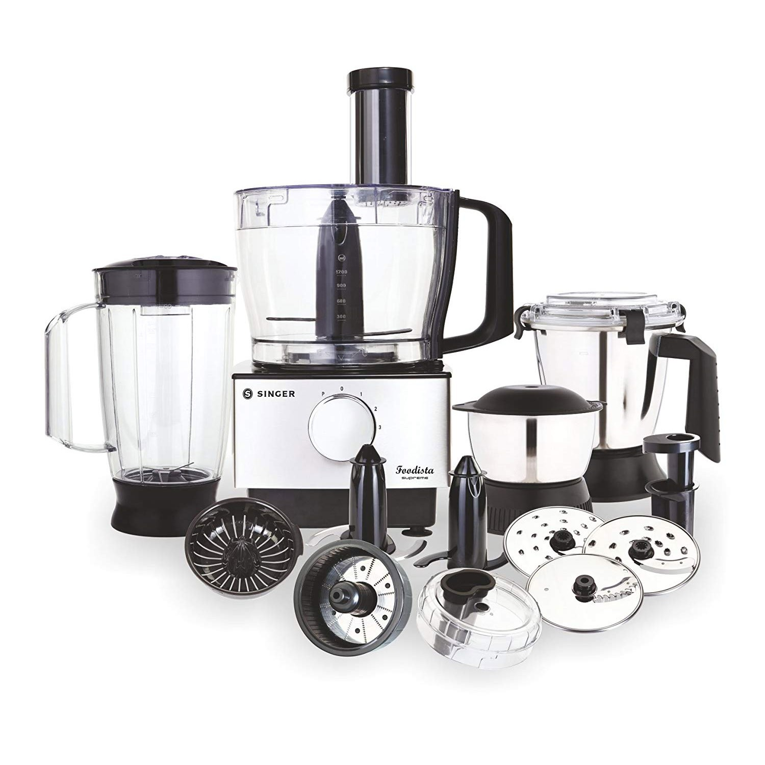 Foodista Supreme 1000 watts Food Processor