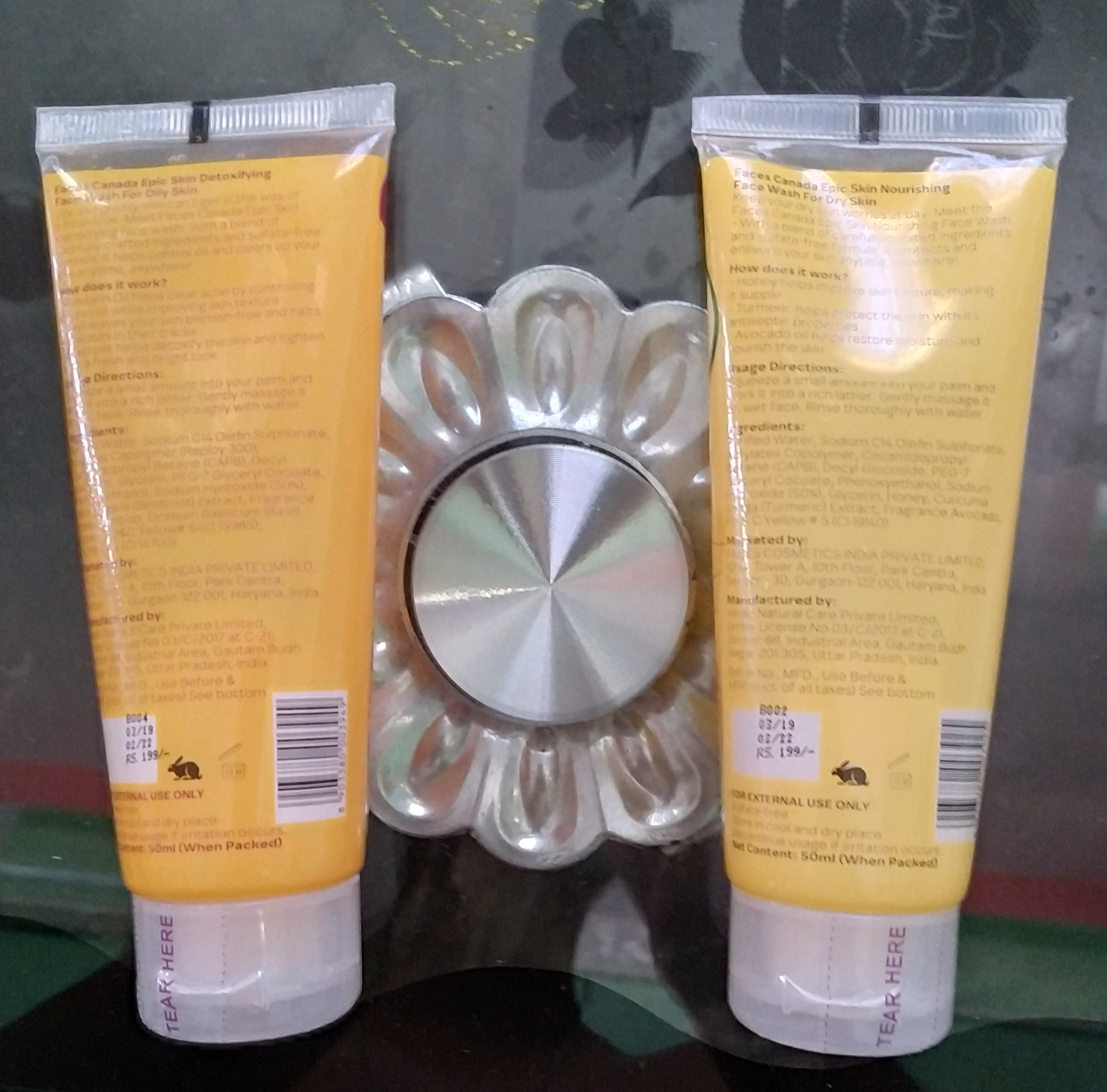 Epic Skin Face Wash For Dry & Oily Skin | MRP Rs. 398